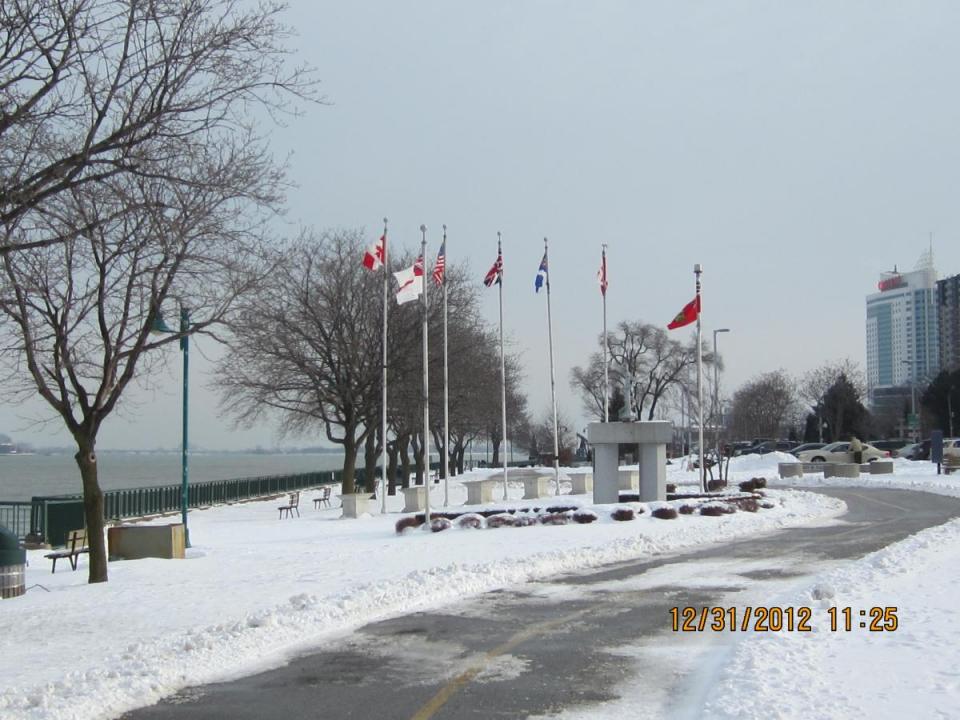 Dieppe Park Naval Memorial