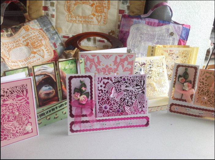 Mrs Mart's hand-made cards
