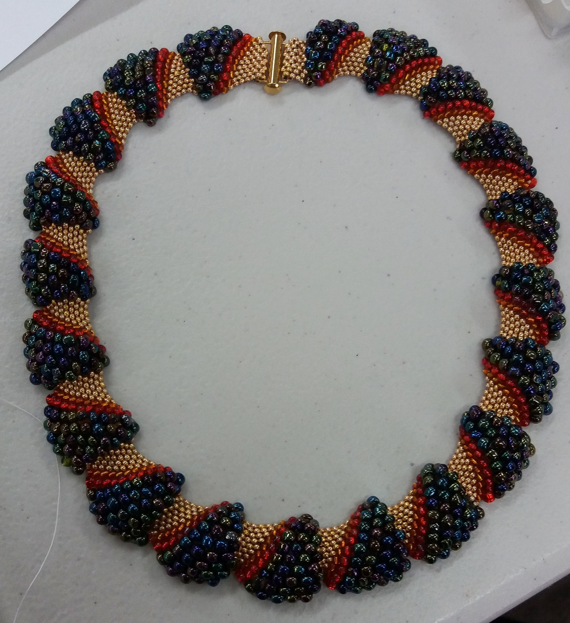 Mrs Mart's bead-work - Necklace
