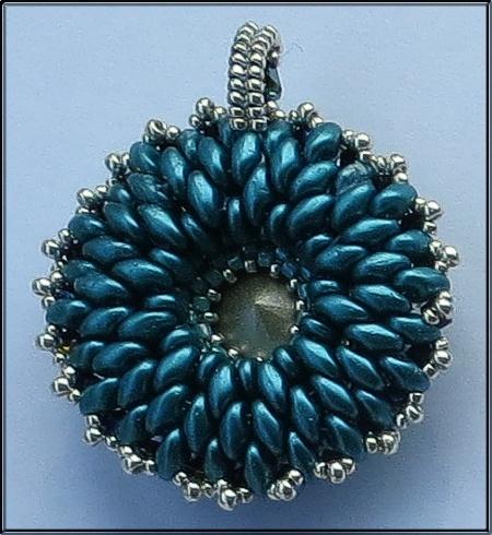 Mrs Mart's bead-work - Pendant
